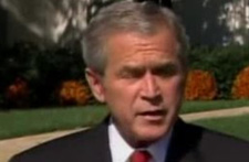 President Bush's Response to Congress: House Foreign Relations Committee<br />